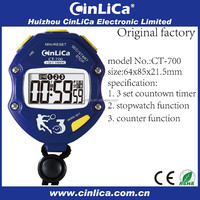 large display pocket wall digital stopwatch CT700