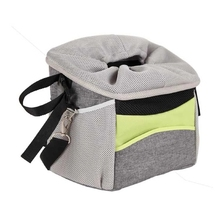 Outdoor Bike Sports Cat Carrier Basket Pet Bicycle Front Dog Carrier
