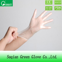12 Inch Long Sleeve Disposable PVC Gloves Medical Vinyl Gloves Vinyl Examination Gloves