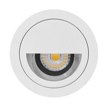 CRI80 Warm white 10w 3inch 3years warranty round indoor LED Dimmable COB wall lamp Downlight style hotel wall washer light