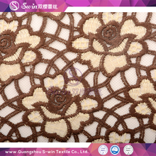 100% Polyester Lace chemical lace french lace Delicate fabric for wholesale