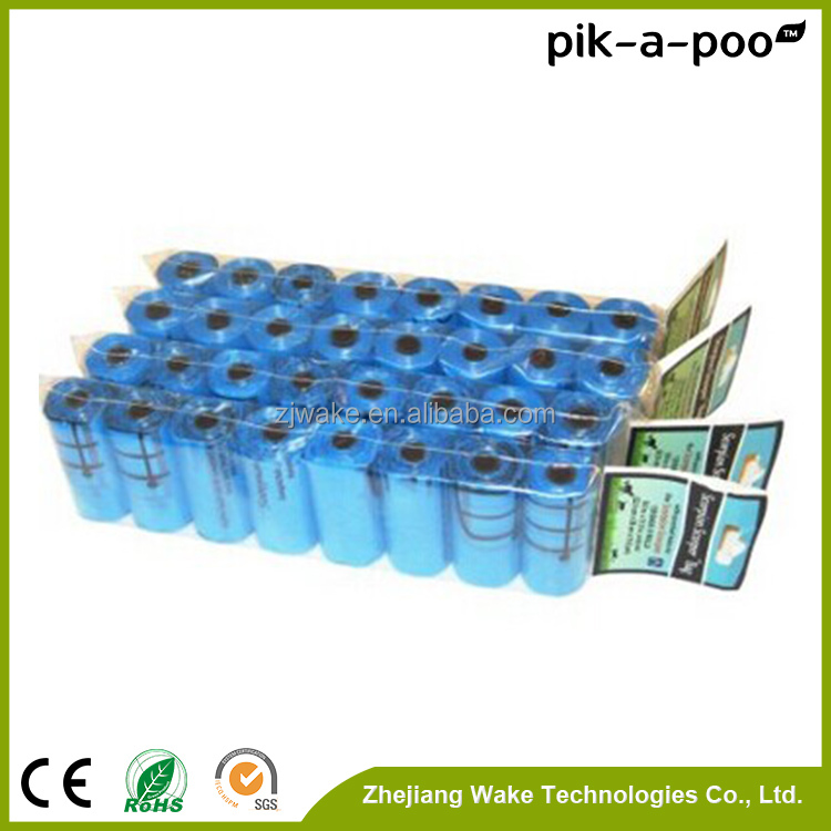 pik-a-poo Quality-assured wholesale new style biodegradable plastic carry bags