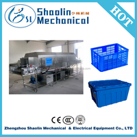 Easy operation hot sale tunnel type cleaning machine with best service