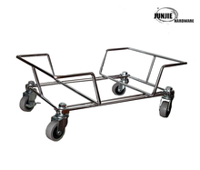 High quality moving pallet dolly, metal dollies with wheels