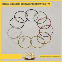 Cheap wholesale custom metal wire keychain manufacturers in china