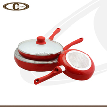 Induction bottom Heat resistent coating aluminum cookware