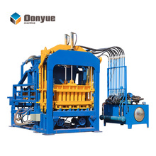 DONGYUE QT10-15 concrete Habiterra block machine production/automatic hydraulic color paver/block making machines south africa