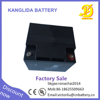 Factory wholesale solar energy products 12v 40ah deep cycle dry battery