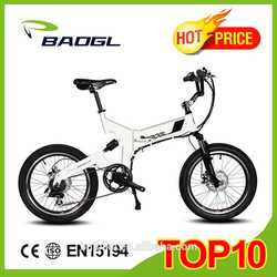 20 INCH electric folding bicycle electric bike chopper