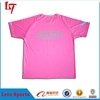 custom t-shirt women body fit pink simple t shirts for women