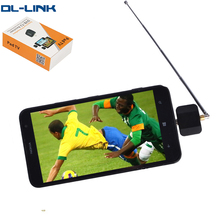 WL-35 DVB T2 Pad TV Tuner Mini DVB-T Digital Satellite Receiver TV Stick Dongle Receiver For Android Phone