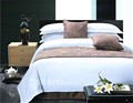 High Quality Percale Luxury Hotel Bedding Bed Sheet
