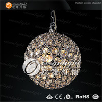 Hotel lobby hall restaraunt crystal ball pendant light OM690