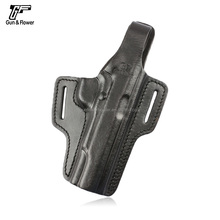 Concealable Tactical/Military Leather Gun Holster Fits Pistol M1911