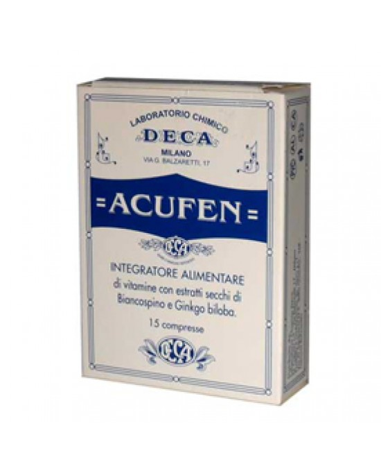 Acufen Food Supplement