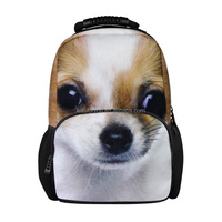 2014 new pet printing Men Bags,Famous And Popular Backpack, Beatles Backpack style