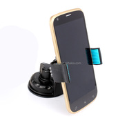 Adjustable Length Universal Mobile Holder 360 Degree Rotating Angle Suck Mount Stand on Car Plastic Fixing Steadily Anti-skid