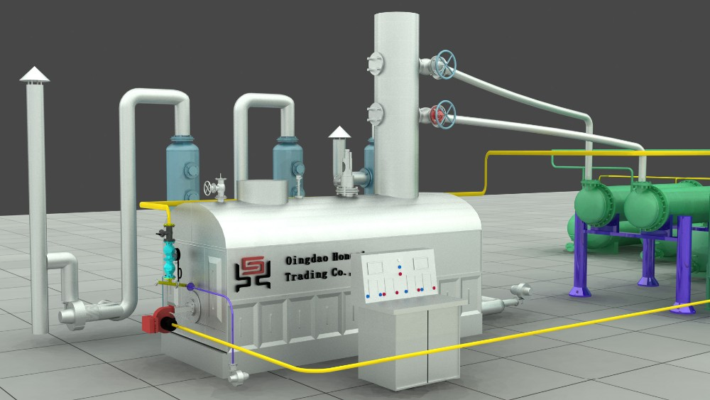 Waste oil/crude oil distillation machine/oil refining plant