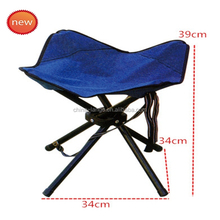 LG-AH1025 Yongkang LanGe steel and fabric simple Portable folding fishing chair camping chair