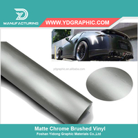 Starwrap Removable Adhesive Grey Chrome Metallic