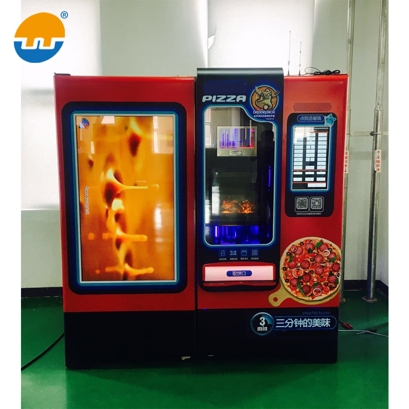 Hot Fresh Automatic Pizza Vending Machine