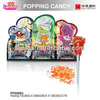LANTOS BRAND 10g Halloween popping rock candy