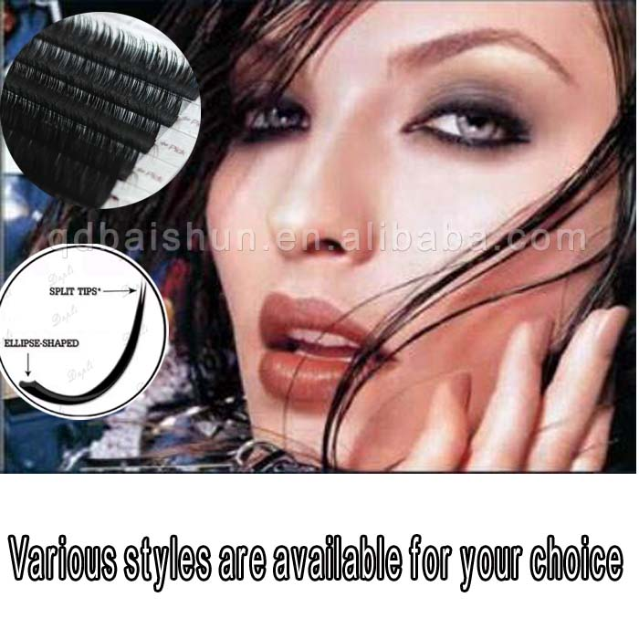 korean Volume 100% real fur lashes wink mink eyelash extensions suppliers