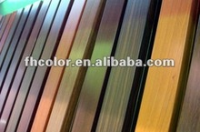 china high quality cheap price wood effect aluminium powder coating paint