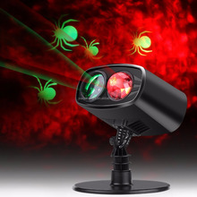 Outdoor LED Kaleidoscope Dimond Ocean Water Wave Fire Motion Light Projector for Winter Christmas Halloween Wall Lanscape Decor