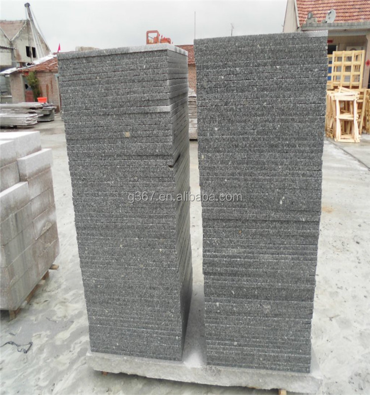 Standard granite kerbstone size G631 grey granite