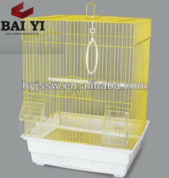 Colorful Bird Cage With Plastic Tray