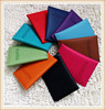 Unisex Women Men Travel Passport Holder PU Leather Purse Cover ID Credit Card Holder Wallet