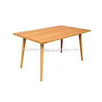 T009 Wood and stone dining table