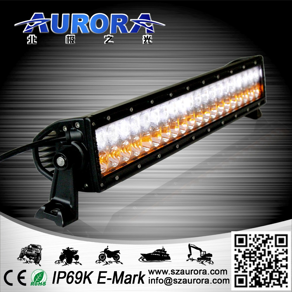 high quality 20inch amber led light bar offroad