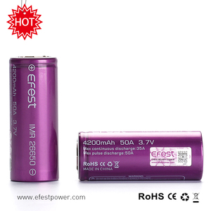Big capacity rechargeable vape mod battery flashlight batteries 26650 4200mah
