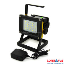 2017 new style outdoor emergency lighting 10w 15w 20w portable battery power operated led camp flood light
