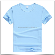custom design unisex blue round neck promotional new fashion printing soft cotton plain polo collar tshirt design