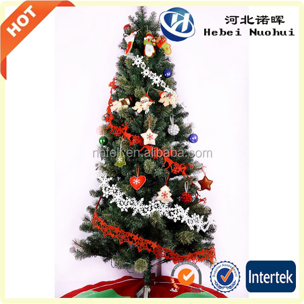 polyester fabric christmas hanging decoration