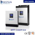 BESTSUN 1000W Grid Tie Solar Inverter with LCD display DC 22V~60V to AC 220V 230V 240V 1kw inverter solar
