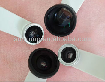 Hot Sale !!!Universal Clip Fisheye, Wide Angle, Macro Lens