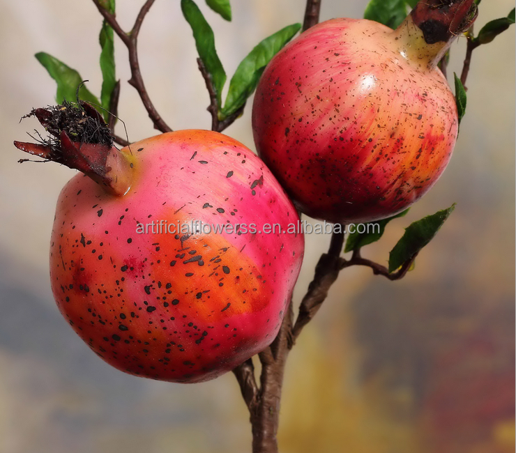 Christmas decorative artificial fake pomegranate fruit