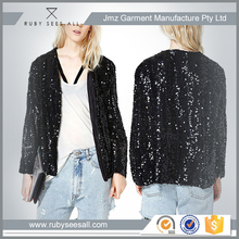Hot Sale Elegant Ladies Evening Sequin Jacket in high quality