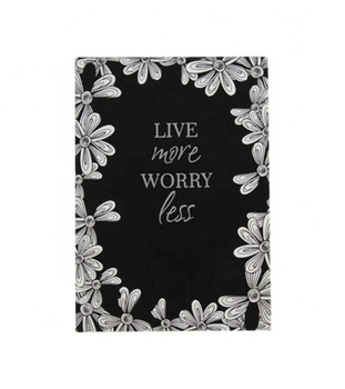 Stationery Flower design hard cover a5 gift dairy notebook