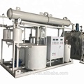 waste oil refine used oil distillation unit black motor oil recycling machine