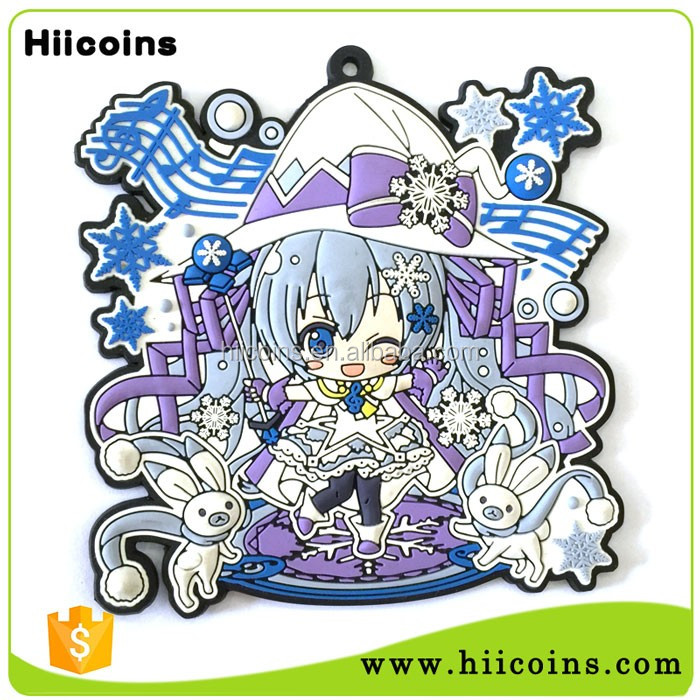Custom Wholesale 3D Cartoon Rubber/ Soft PVC Fridge Magnet