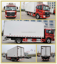 Best manufactures refrigerator cooling van live fish transport truck in China hot selling truck for milk transportation