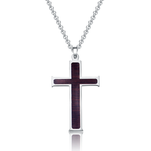 Fashion designer jewelry stainless steel pendant in stock, the fast and the furious cross