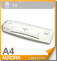 Aurora LM4231H Hot Laminator, A4 5min Warm-up Time,80-150mic Pouch Thickness
