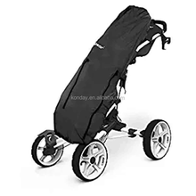 Black Color Deluxe Golf Bag Cover