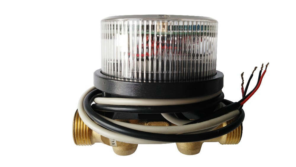 Ultrasonic water meter with M-BUS / pulse output